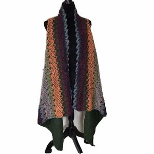 Do Everything In Love Sweater Shawl Cardigan Knit